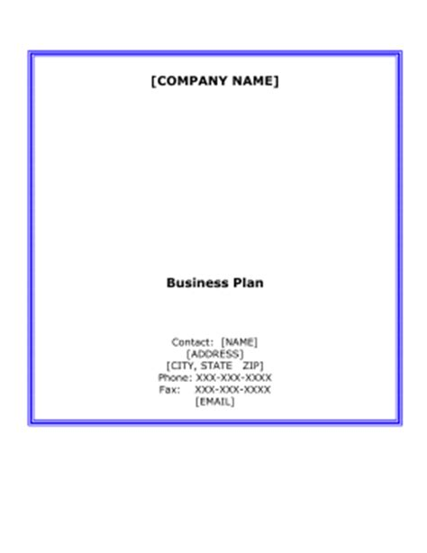 Sample Business Plan: An Example - ThoughtCo